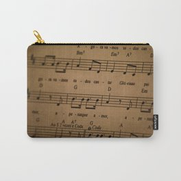 Music Tabs Carry-All Pouch