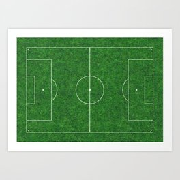 Football's coming home Art Print