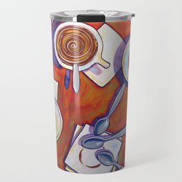 The Get Together ... Kitchen Coffee Cup Art Travel Mug