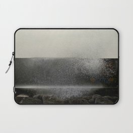 The ocean behind the wall Laptop Sleeve