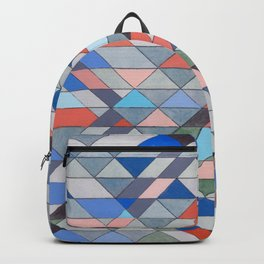 Triangle Pattern No. 7 Diagonals Backpack