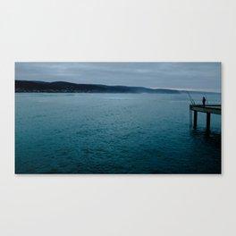 Blue fishing Canvas Print