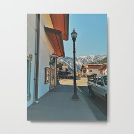 Sunny day in Leavenworth Metal Print