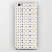 southwest iPhone & iPod Skins featuring Southwest Triangles by Kara Peters