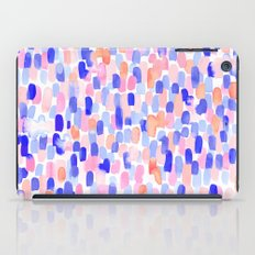 Delight Blue Orange iPad Case