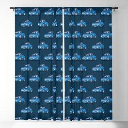 30's American Street Rod Custom Coupe Cartoon Blackout Curtain