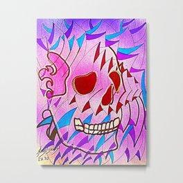 CRÁNEOS 30 Metal Print