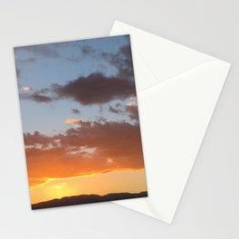 Desert Sunset in Ocotillo Wells California Stationery Cards