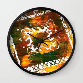 Aztec Culture Wall Clock