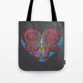 Heart Totem Tote Bag