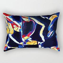 Hot Lava ~ Legs Rectangular Pillow