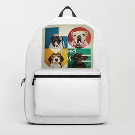 DOGS - ALL YOU NEED IS LOVE - ORIGINAL CREATIVE DESIGN Backpack
