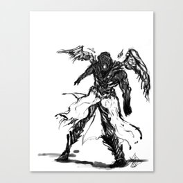 Gods Staggered Canvas Print