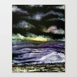 Lavender Waves Canvas Print