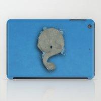 manatee iPad Cases featuring Manatee by Acrosanti