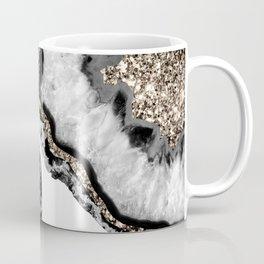 Yin Yang Agate Glitter Glam #10 #gem #decor #art #society6 Coffee Mug