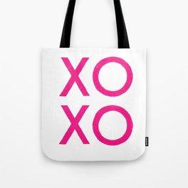 XOXO [Pink] Tote Bag