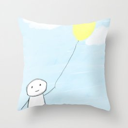 Simple Day  Throw Pillow