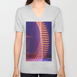 Abstract Eye Unisex V-Neck