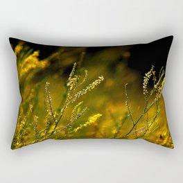 Amber Fiels of Gold... Rectangular Pillow