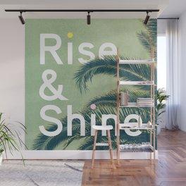 Rise & Shine Wall Mural