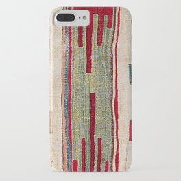 Arcade Star Kilim // 17th Century Colorful Muted Lime Green Southwest Cowboy Ornate Accent Pattern iPhone Case