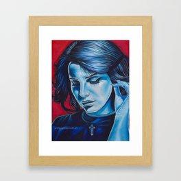 lana stargirl Framed Art Print