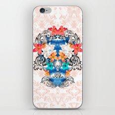 Hawaiian Skull iPhone & iPod Skin