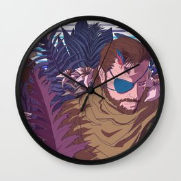 Full Ton Exaction Wall Clock