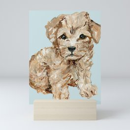 Schnoodle Pups Mini Art Print