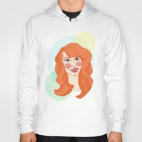 ginger Hoodies featuring ginger by bexchalloner