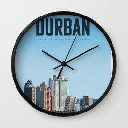 Visit Durban Wall Clock