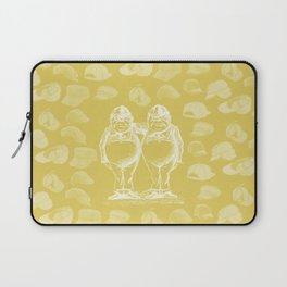 Tweedledum, Tweedledee and Caps Laptop Sleeve