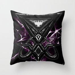 Luciferi sigil Throw Pillow
