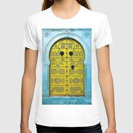 Ornate Tunisian Doorway T-shirt