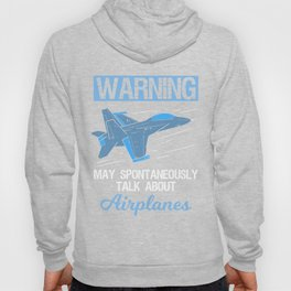 Funny Pilot Aviation Jet Fighter Aeroplane Plane Saying Gift Hoody