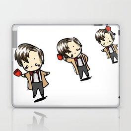 Kawaii Eleventh Doctors Laptop & iPad Skin