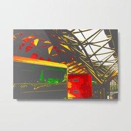 Southern Cross Station 113 Vamped Metal Print