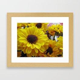 Bouquet of Love Framed Art Print
