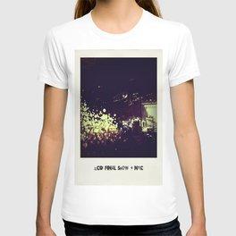LCD Soundsystem Final Show T-shirt