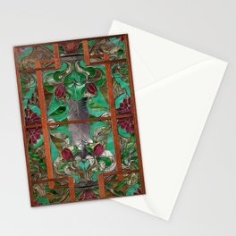 1922 Stained Glass Stationery Cards