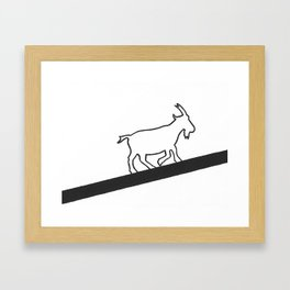 Goat Rodeo Framed Art Print