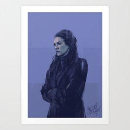 Theo-F*cking-Crain, PhD. Art Print