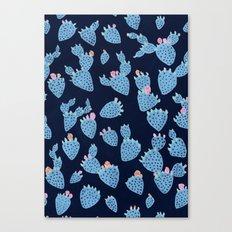 Flowering Cacti Canvas Print