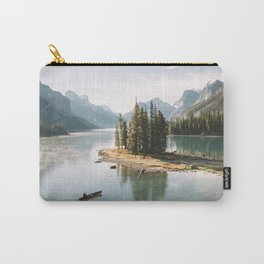 A Canadien Postcard Carry-All Pouch