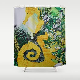 Coronet Shower Curtain