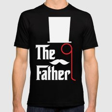 The Father SMALL Black Mens Fitted Tee