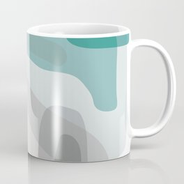Abstract Early Morning Ocean Landscape Coffee Mug