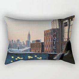 Hotel Sticky Notes Rectangular Pillow