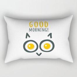 Morning owl Rectangular Pillow